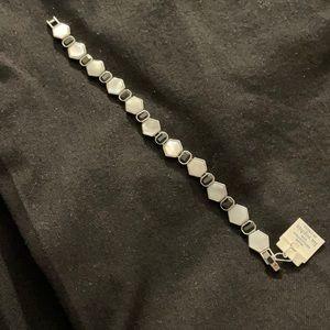 Lia Sophia bracelet NWT black/white